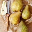 Stock Photo: Fresh pear