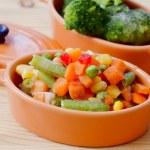 Ice vegetable — Stock Photo