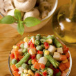 Frozen vegetables — Stock Photo