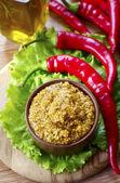 French mustard — Stock Photo