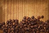 Coffee on wood — Stock Photo