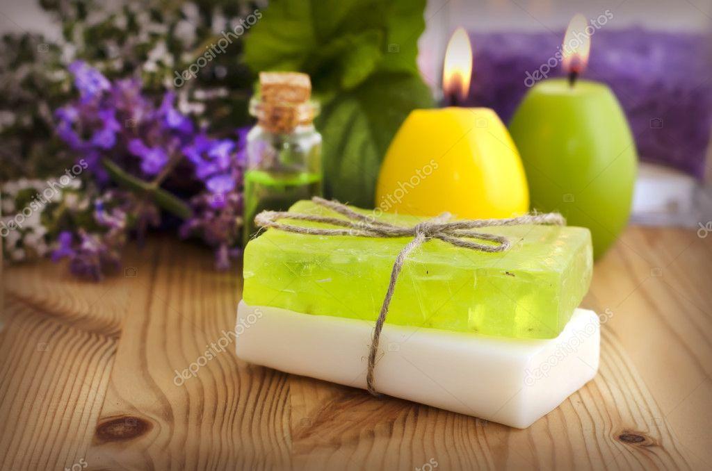 Как из мыло сделать свечу