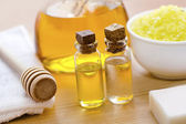 Oils for spa — Stock Photo