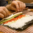 Stock Photo: Prepared sushi