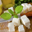 Stock Photo: Cheese feta