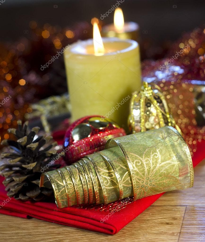 Christmas decorations — Stock Photo #7891635