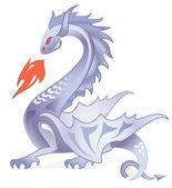 Dark dragon 4 — Stock Vector