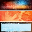 Royalty-Free Stock Vectorielle: Grungy banners