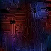 Arrière-plan du thème technologie — Vecteur