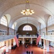 New York City Ellis Island Great Hall — Stock Photo #6815545