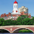 Harvard University John W. Weeks Bridge — Stock Photo
