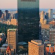 Boston aerial view — Stockfoto