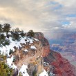 Grand Canyon panorama view in winter with snow — Stock Photo #6816966