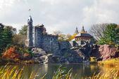 New york city manhattan central park belvedere castle — Stockfoto