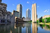 Boston městská architektura — Stock fotografie