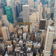 New York City Manhattan skyline aerial view — Stock Photo #7341843