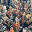 Stock Photo: New York City Manhattan skyline aerial view