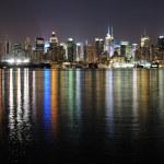 Urban City night view — Stock Photo #7342234