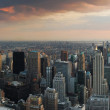 NEW YORK CITY sunset panorama — Foto Stock