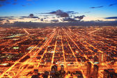 Chicago at dusk — Stok fotoğraf