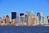 New Yorks manhattan — Stockfoto