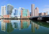 Boston morgon — Stockfoto