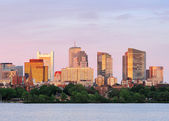 Boston sunset — Stockfoto