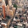 Royalty-Free Stock Photo: New York City street aerial view
