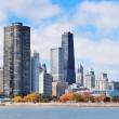 Chicago city urban skyline — Stock Photo #7916783