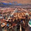 Chicago urban skyline panorama — Stock Photo