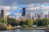 Chicago manzarası — Stok fotoğraf