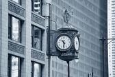 Chicago şehir merkezi sokak görünümü — Stok fotoğraf