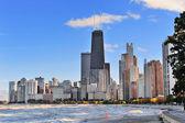シカゴの都市スカイライン — ストック写真