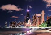 芝加哥湖畔 — 图库照片