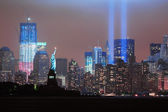 September 11 Tribute — Stock Photo