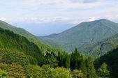 Achi village in Nagano, Japan — Stock Photo