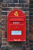 Post in Denmark — Stock Photo