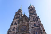 St. Lorenz Church in Nuremberg, Germany — Stock Photo