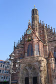 Frauenkirche (Church of Our Lady) in Nuremberg, Germany — Stock Photo