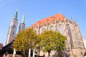 St. Sebaldus Church in Nuremberg, Germany — Stock Photo