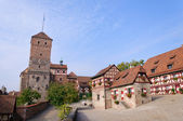 Nuremberg Castle (Kaiserburg) — Stock Photo