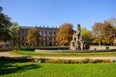 Erlangen, Almanya Güz — Stok fotoğraf