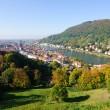 Cityscape of Heidelberg, Germany - Stock Photo