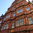 The house Zum Ritter in Heidelberg, Germany — Stock Photo