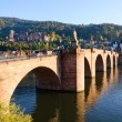 Stock Photo: Castle and Old Town in Heidelberg, Germany