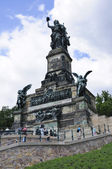 Niederwalddenkmal in Ruedesheim, Germany — Stock Photo