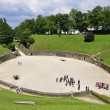 Amphitheater in Trier, Germany — Stock Photo