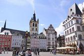 Viktigaste marknadsplats i trier, Tyskland — Stockfoto
