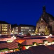 Christkindlesmarkt (Christmas market) in Nuremberg, Germany — Stock Photo