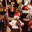 Nutcrackers at the christmas market of Nuremberg in Germany - Stockfoto
